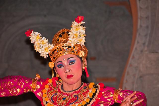 Balinese Temple Dancer