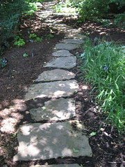 stone path by Joy Weese Moll