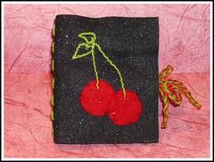 Cherry Galaxy needle book