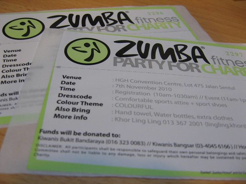 Zumba Fitness Party for Charity 2010