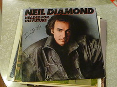 Neil Diamond Headed for the Future 12 LP