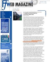 """Ffweb: Feha Gibùss citato sul magazine di """"Fare Futuro"""""""