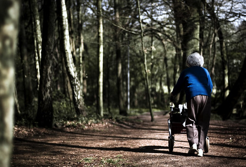 Taking A Walk With My Grandma