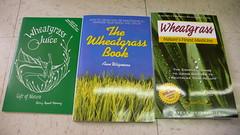 Wheatgrass books