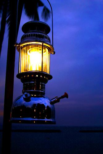 Light Of The World, Hurricane Lamp Reflections