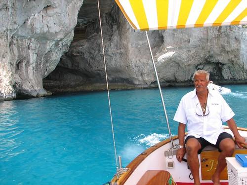 Capri's incredible water