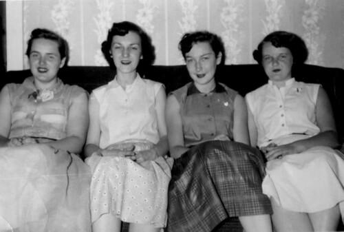 Ladies On The Sofa