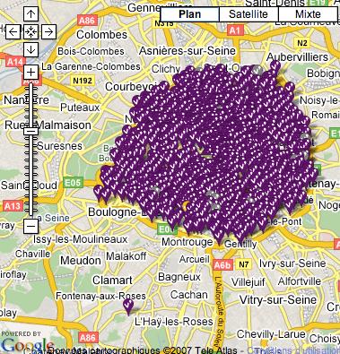 les velibs envahissent Paris