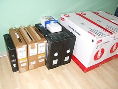 Boxes of Equipment