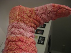 Monkey Sock - Detail