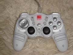 top view of my new controler