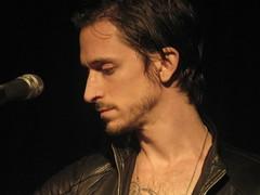 Jimmy Gnecco live at Radio Popolare, Milan