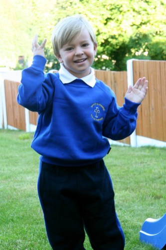First day in school