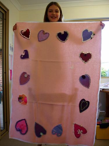 Tay's blanket