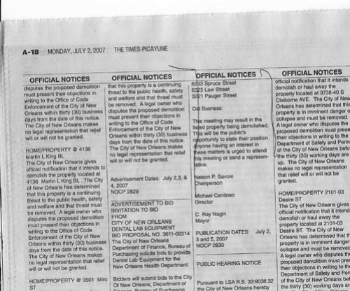 HCDRC Agenda July 9 2007