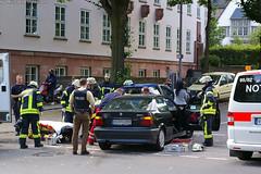Verkehrsunfall Gutenbergplatz 16.06.07