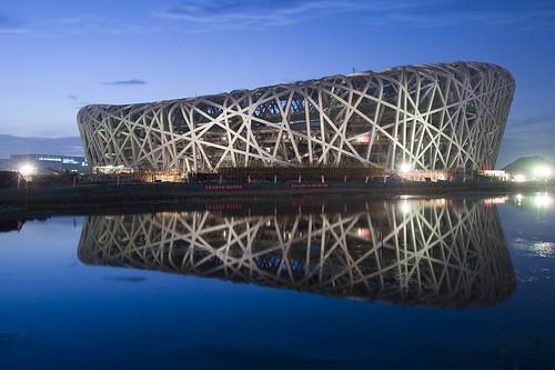 Olympic   stadium  .........Beijinng