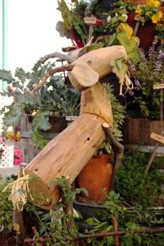 garden exhibits at the county fair