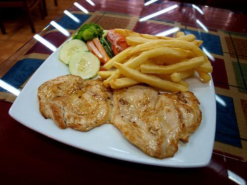 Perú: Pollo a la plancha