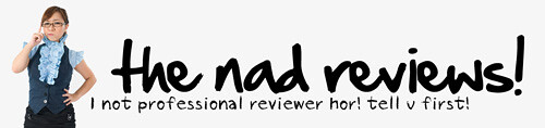 The nad reviews, singapore lifestyle blog, reviews, food reviews, food blog