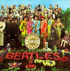 Portada Sergeant pepper's lonely hearts club band