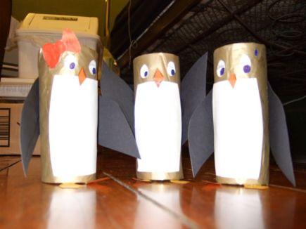 The Three Toilet Penguins