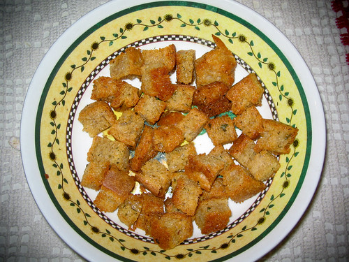 Croutons for My Mother