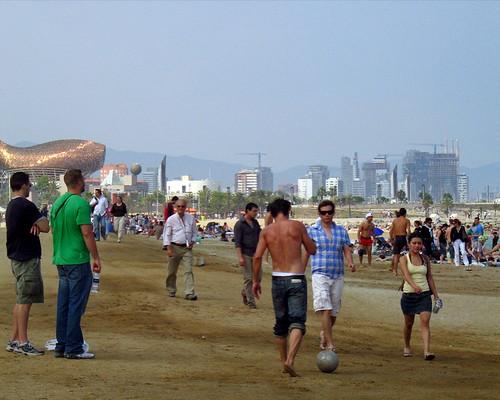 Paseo por la Barceloneta