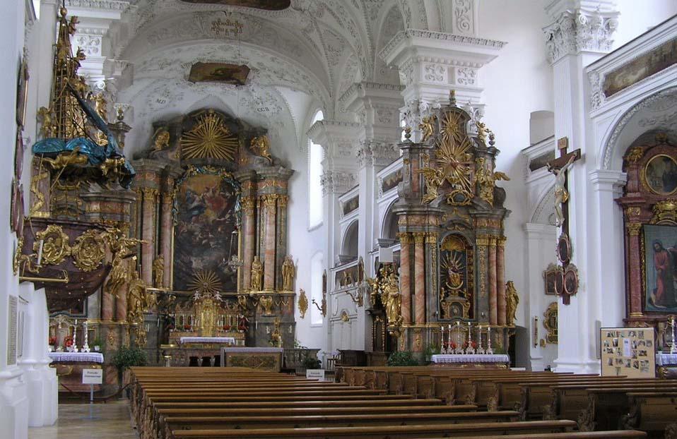 Klosterkirche Irsee, Altarraum