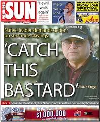 Native police should hunt serial killer, says ...