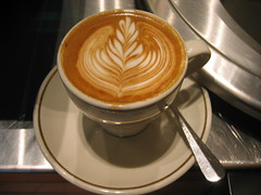 My flat white by Mars