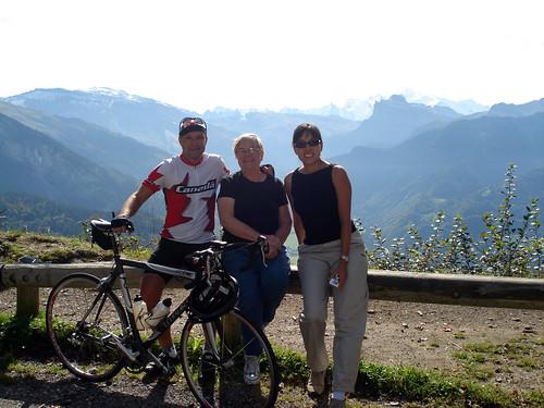 Cycling Col de Joux Plane
