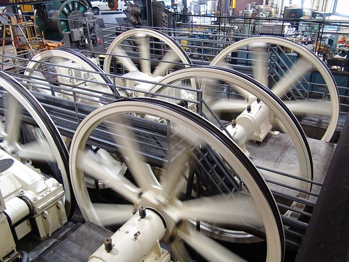 Cables and Flywheels of San Francsico by Mike Sweeney