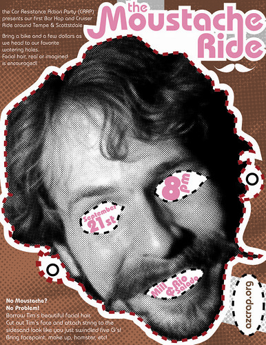 moustache ride flyer