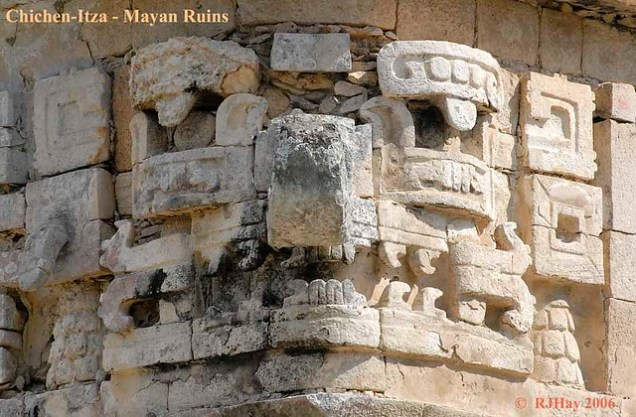 Chichen Itza - Mayan Stonework