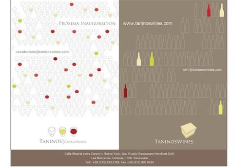 taninos wines