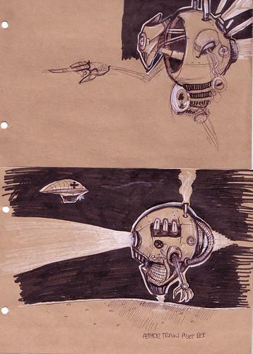Bot doodles