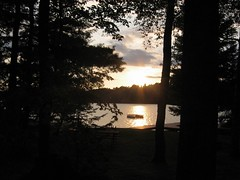 Sunset on Cranberry Lake