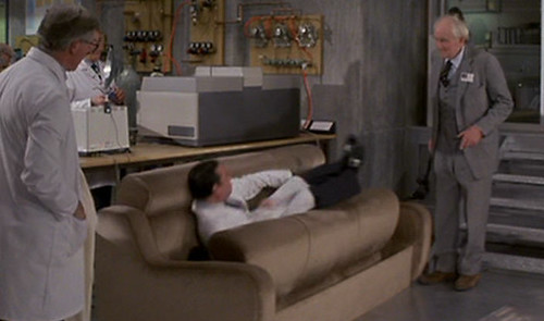 The sofa ate me!
