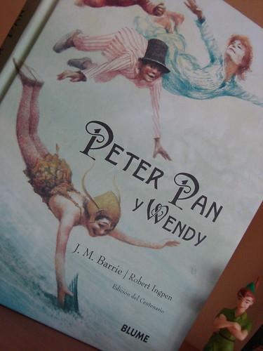 Libro Peter y Wendy edición especial