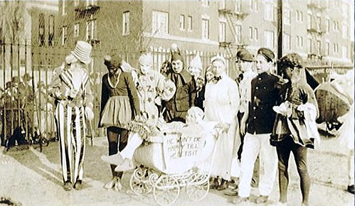 1915 - College Boys in Costume