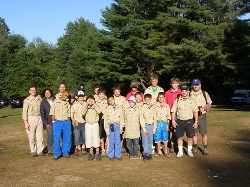 Troop 353 dressed & ready to head home.