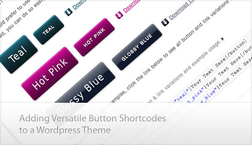 Tutorial on How to Add Versatile Button Shortcodes on Your WordPress Theme