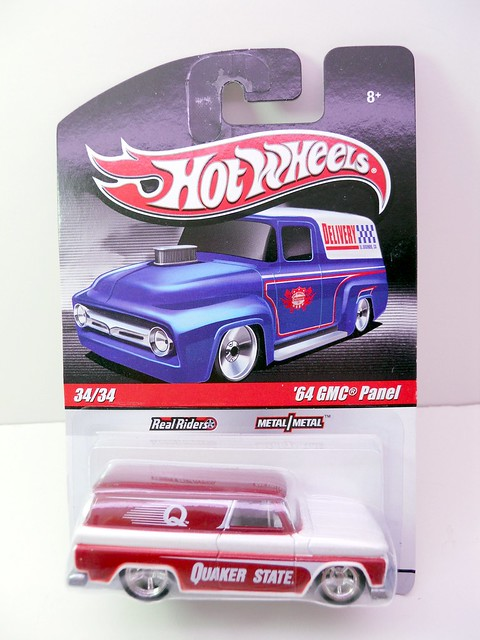 HOT WHEELS DELIVERY '64 GMC PANEL (1)