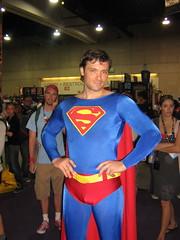 Superman at DC Comics exhibit