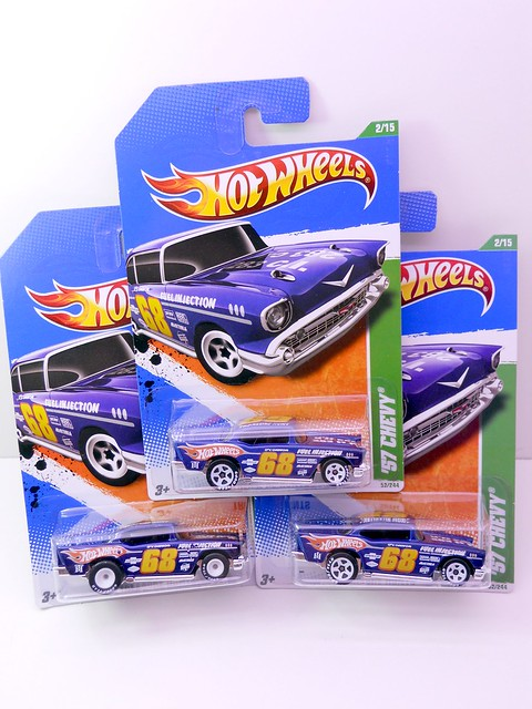 hot wheels super treasure hunt 57 chevy group (3)