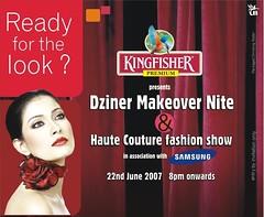 KINGFISHER presents Dziner Makeover Nite