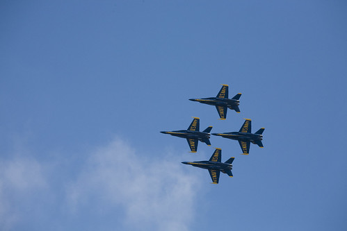 Blue Angels @ Seafair 2007