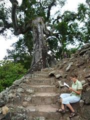 Sarah in Copan, Honduras