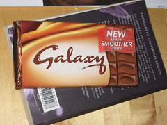Bar of Galaxy chocolate by 'Peter' www.flickr.com